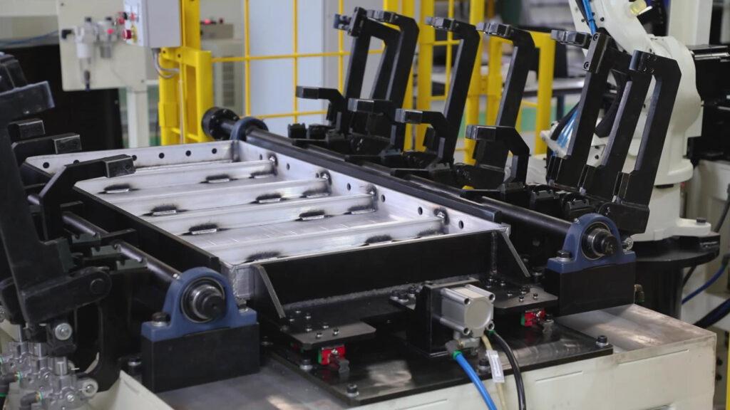 Robotic Welded Aluminium Construction Panel