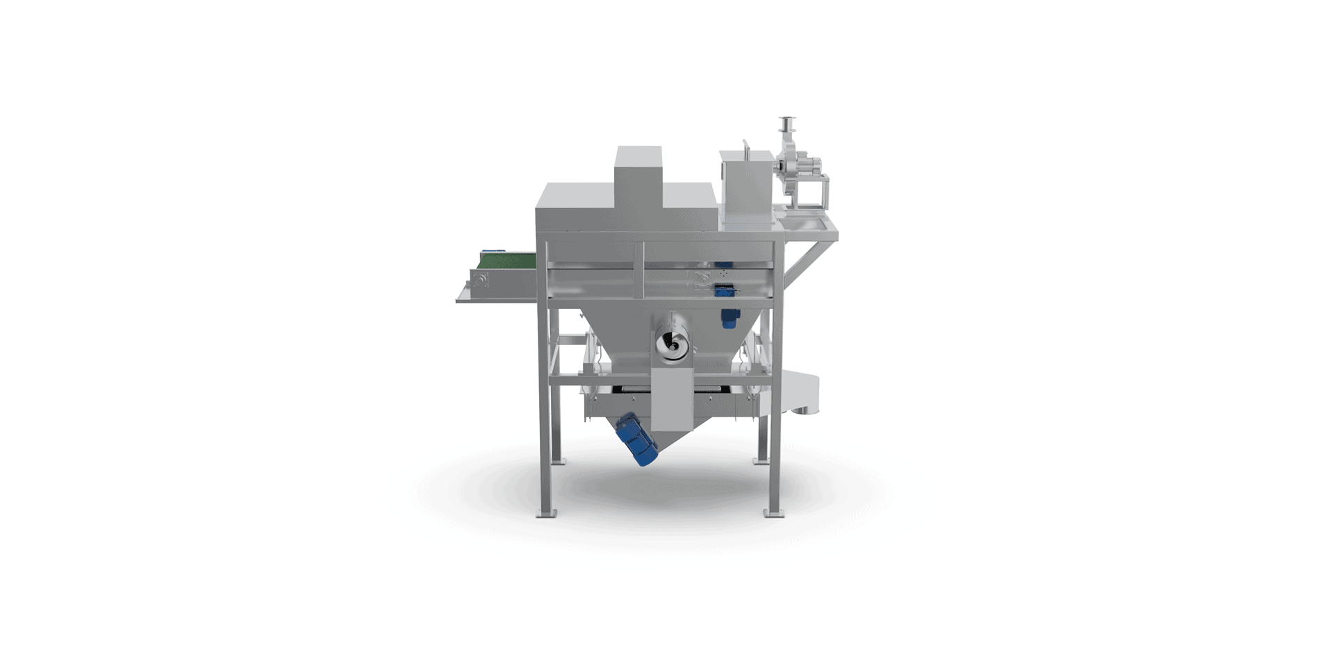 Automatic Bag Slitter with Vibro Sifter