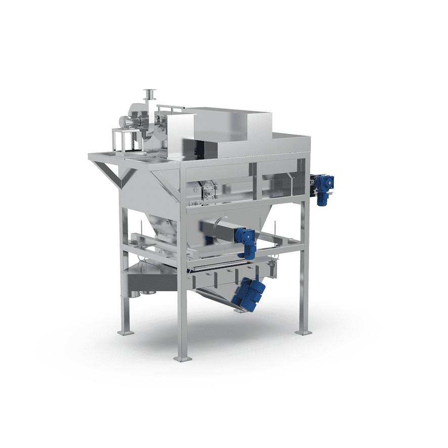 Automatic Bag Slitter with Vibro Sifter_01