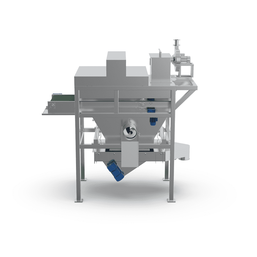 Automatic Bag Slitter with Vibro Sifter_02