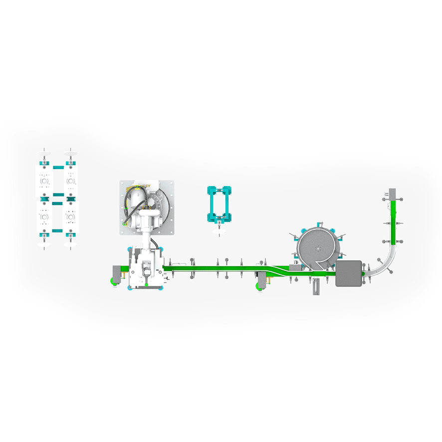 Robotic Carton Packer for Bottles_01
