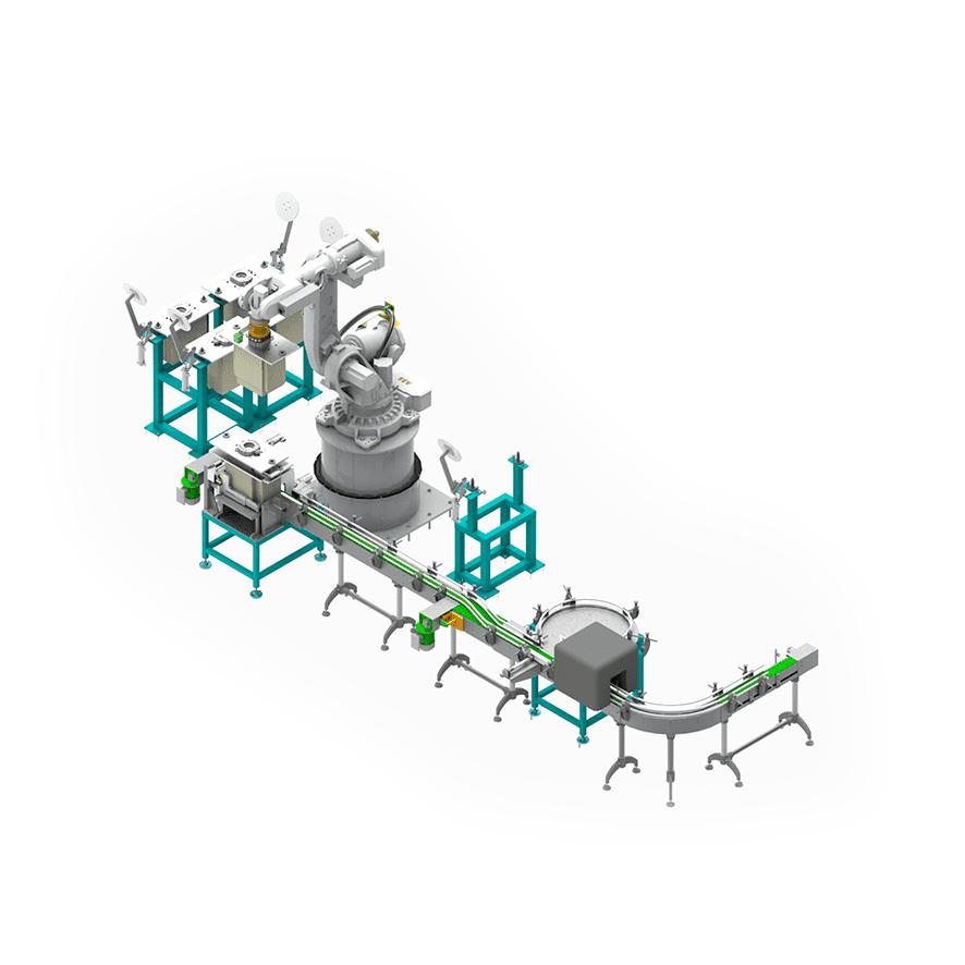 Robotic Carton Packer for Bottles_02