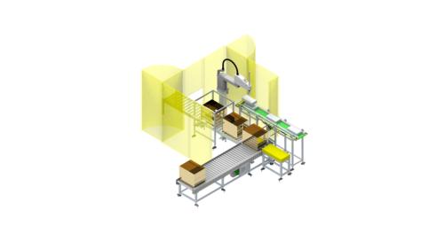Robotic Carton Packer for Pouches