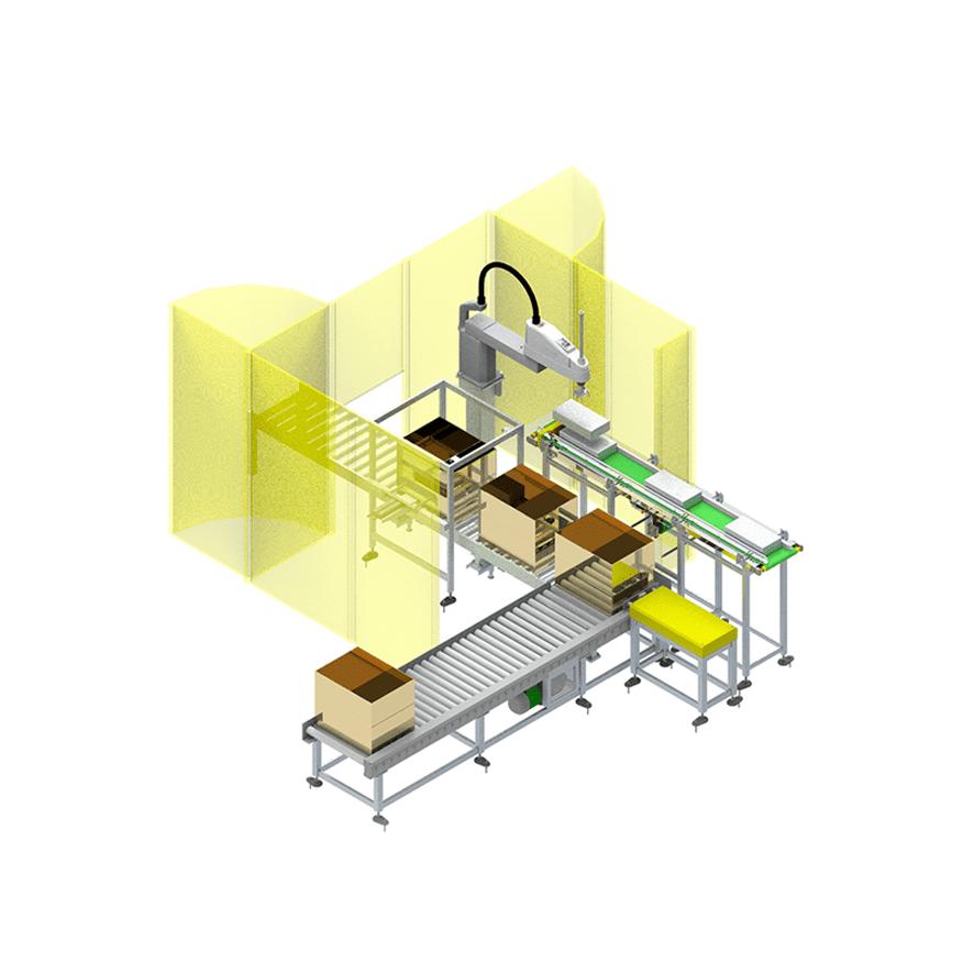 Robotic Carton Packer for Pouches_01