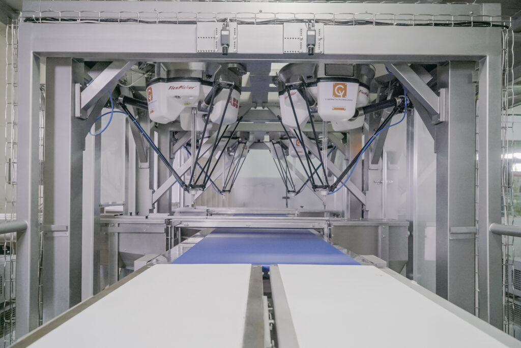 Robotic High-speed Pick & Place System for Enrobed Chocolate-3